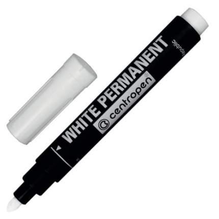 Маркер перманентный, белый, круглый наконечник, 2,5 мм белый