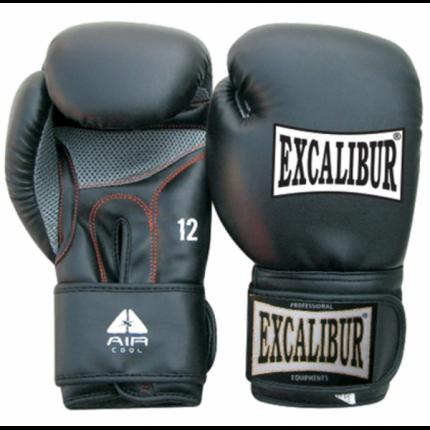 Боксерские перчатки Excalibur 534-02 черные 12 унций