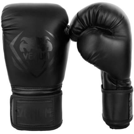 Боксерские перчатки Venum Contender черные 8 унций