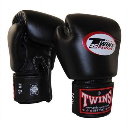 Боксерские перчатки Twins BGVL-3 черные 16 унций