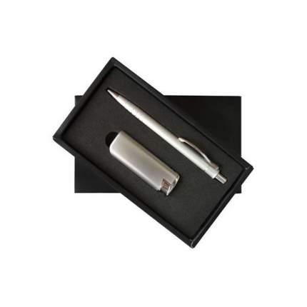 Набор: ручка шариковая + зажигалка, комбинированный|3