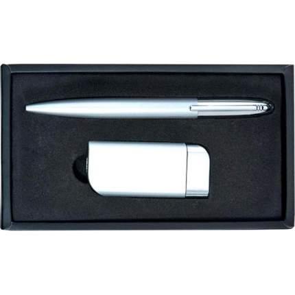 Набор: ручка шариковая + зажигалка, комбинированный|7