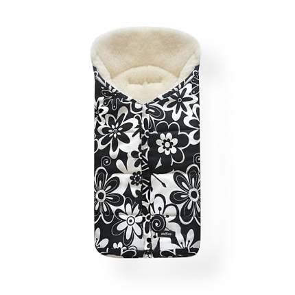 Спальный мешок в коляску Womar Wintry №12, шерсть, 19 Цветки