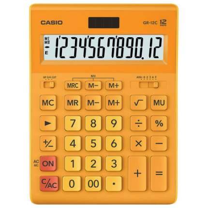 Калькулятор Casio GR-12C-RG-W-EP