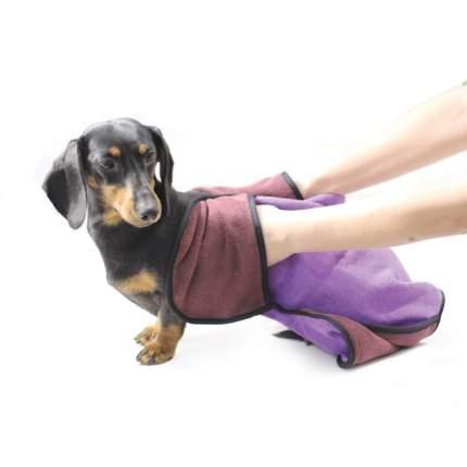 Полотенце для животных Triol TB-27, микрофибра, фиолетовое, 67 х 44 см