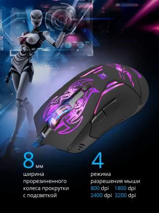 Игровая мышь Defender Bionic GM-250L Black (52250)