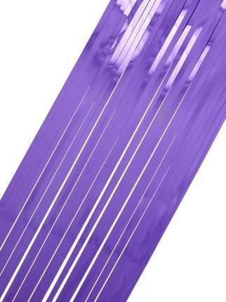Дождик новогодний Феникс Present 80407 100 х 9 см фиолетовый
