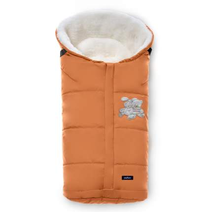 Спальный мешок в коляску Womar Wintry №12, шерсть, 2 Оранжевый