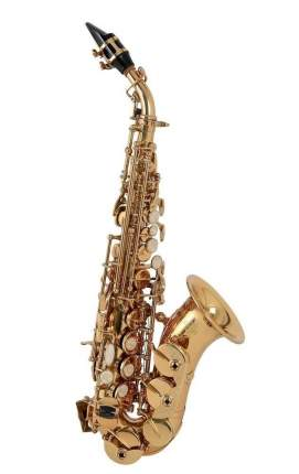 Саксофон сопрано Bb Roy Benson Sg-302 изогнутой формы