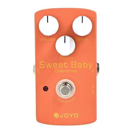 Педаль эффектов легкий овердрайв Joyo Jf-36 Sweet Baby Overdrive