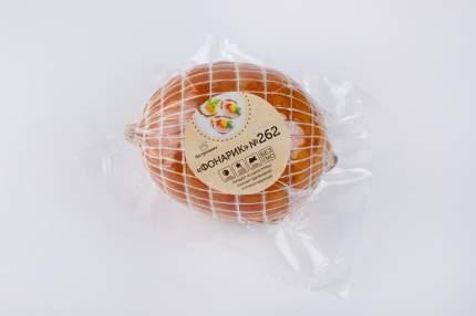 Рулет Пестречинка Фонарик из мяса птицы копчено-вареный +-500 г
