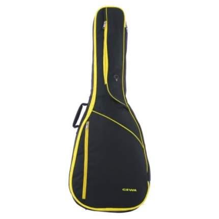 Чехол для классической гитары Gewa Ip-g Classic 4/4 Yellow, желтая отделка