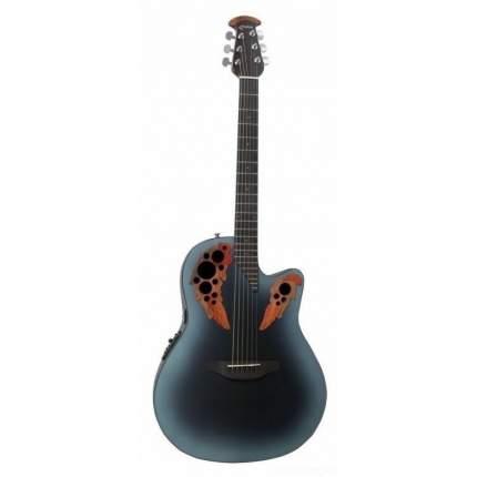 Электроакустическая гитара Ovation Ce44-rbb Celebrity Elite Mid Cutaway Reversed Blueburst