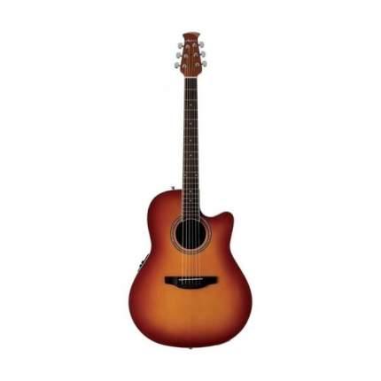 Электроакустическая гитара Applause Ab24ii-hb Balladeer Mid Cutaway Honey Burst