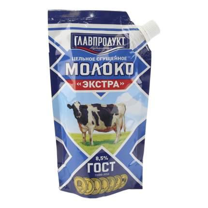 Сгущенное молоко Главпродукт Экстра цельное с сахаром 8,5% 270 г