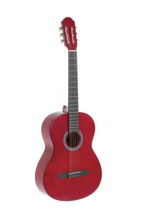 Классическая гитара Gewapure Classical Guitar Basic Transparent Red 4/4