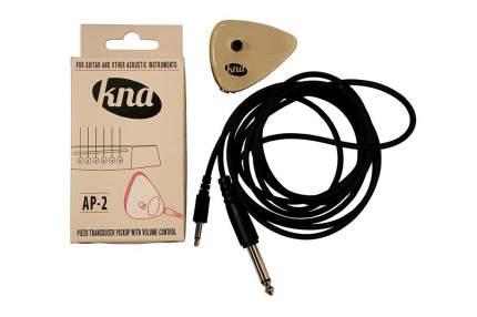 Звукосниматель для акуст. гитары и других акуст. Инструм Kna Ap-2, пассивный, разъем 1/4