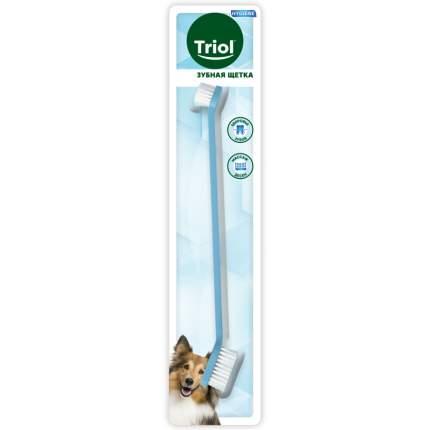 Зубная щетка для кошек и собак Triol P553, мягкая щетина, в ассортименте, 21 см
