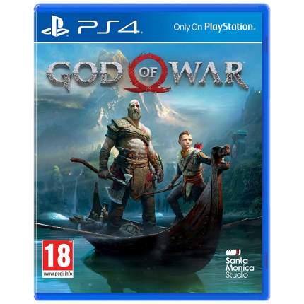Игра God of War Стандартное издание для PlayStation 4