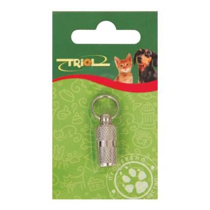 Адресник-капсула для кошек и собак Triol SH607, сталь, 3 см