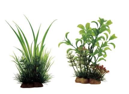 Искусственное растение ArtUniq, Acorus mix 20 12x10x20см + Ludwigia mix 13 10x5x13см