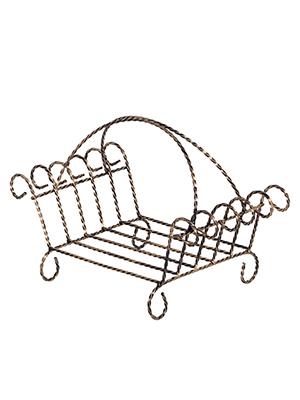Корзина для переноски дров Vitaluce V7180/1
