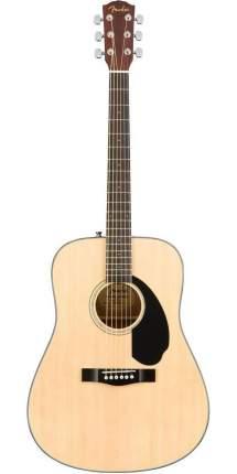 Акустическая гитара Fender Cd-60s Dread Nat Wn, цвет натуральный