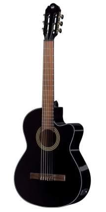 Классическая гитара с подключением Vgs Student E-classic Black