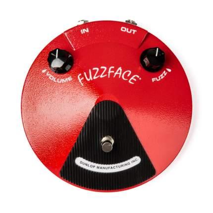 Эффект гитарный Dunlop Jdf2 Fuzz Face Distortion, германиевые транзисторы