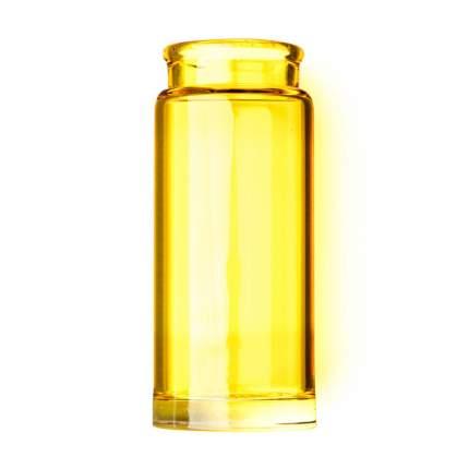 Слайд стеклянный в виде бутылочки Dunlop 277 Yellow Blues Bottle Regular Medium, желтый