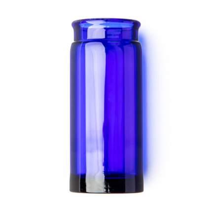 Слайд стеклянный в виде бутылочки Dunlop 278 Blue Blues Bottle Regular Large, синий