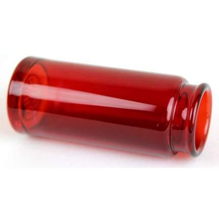Слайд стеклянный в виде бутылочки Dunlop 278 Red Blues Bottle Regular Large, красный