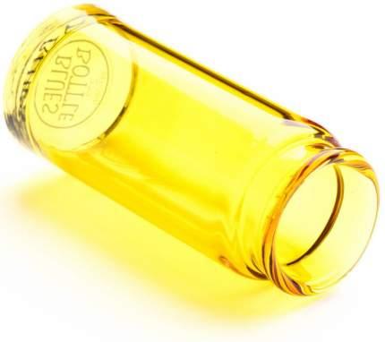 Слайд стеклянный в виде бутылочки Dunlop 278 Yellow Blues Bottle Regular Large, желтый