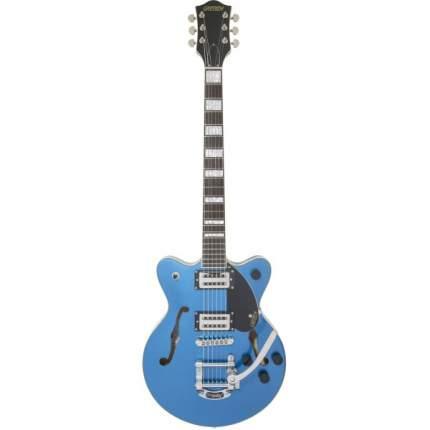 Полуакустическая Электрогитара Gretsch G2655t Strml Cb Jr Dc Fbl, цвет синий