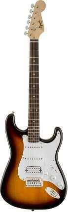 Электрогитара Fender Squier Bullet Trem Bsb, цвет санберст