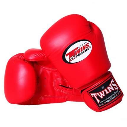 Боксерские перчатки Twins BGVL-3 красные 16 унций