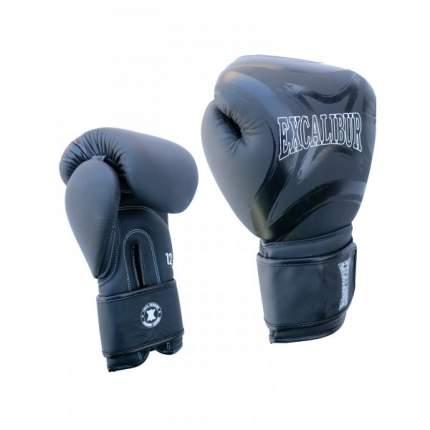 Боксерские перчатки Excalibur 8046/01 черные 14 унций