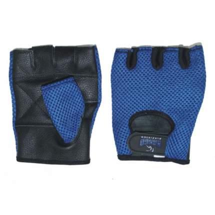 Перчатки для фитнеса Kango WGL-072 Black/Blue, M