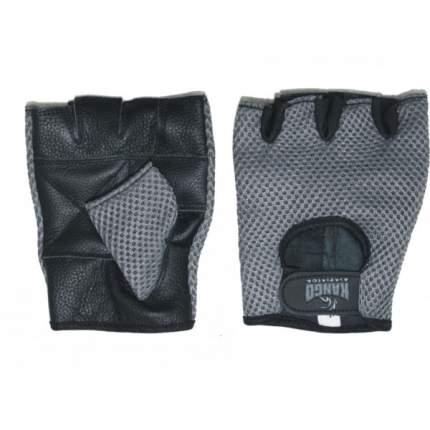 Перчатки для фитнеса Kango WGL-073 Black/Grey, M