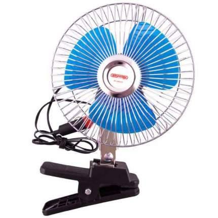 "Вентилятор 6"" 24V  SKYWAY на клипсе пластик"