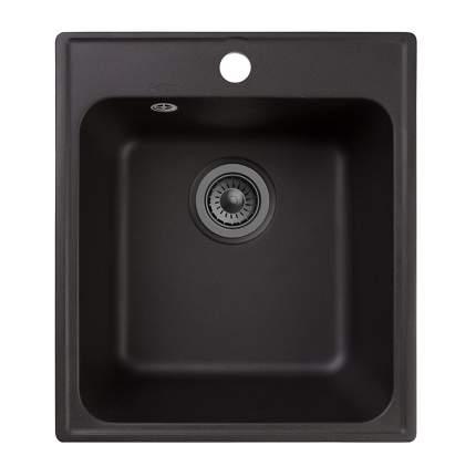 Мойка для кухни комбинированная Raiber RQ21 прямоугольная, цвет антрацит