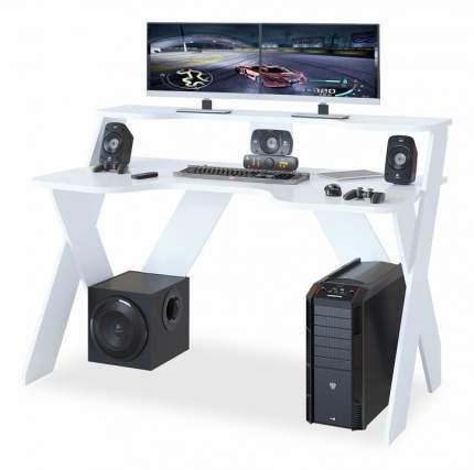 Компьютерный стол СОКОЛ КСТ-117 140x80x96,3, белый