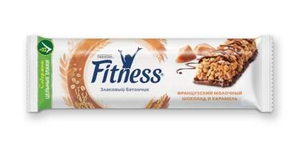 Батончик цельный злаковый  Fitness шоколад карамель 24 шт по 23.5 г