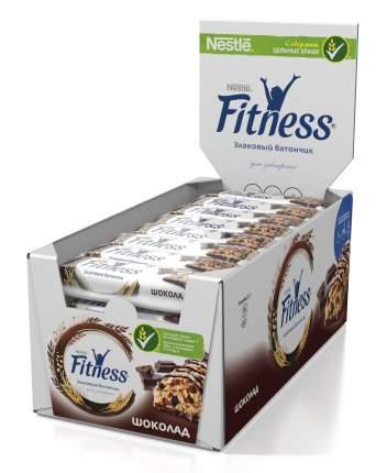 Батончик цельный злаковый Fitness с шоколадом 16 шт по 23.5 г