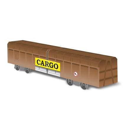 Вагон Molotow Cargo 800620 бумажная модель товарного вагона для скетчей
