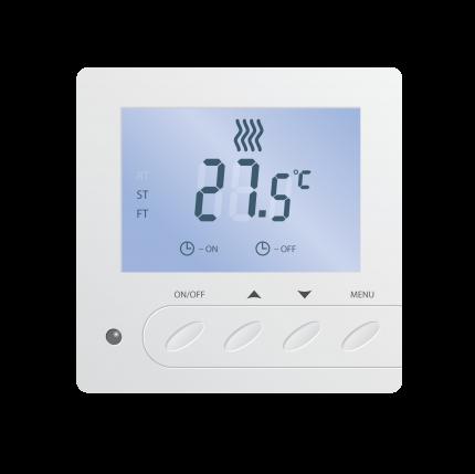 Терморегулятор для теплых полов Caleo SM731 встраиваемый цифровой, 3,5 кВт