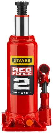 Домкрат гидравлический Stayer 43160-2_z01 бутылочный,  2т