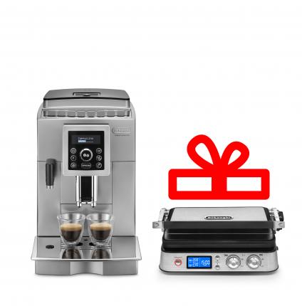 Комплект DeLonghi кофемашина EСAM 23.460.S+мультигриль CGH1012D
