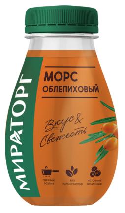 Морс Мираторг облепиховый 370 мл