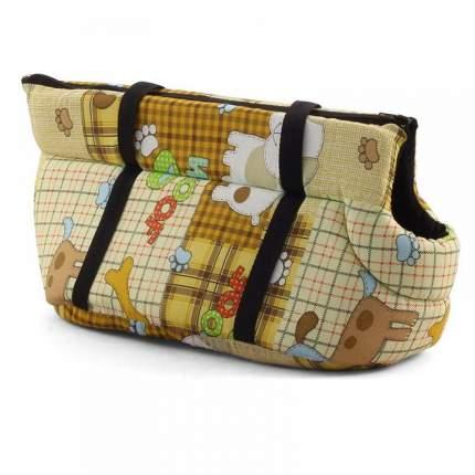 Переноска для домашних животных Gamma №1, сумка, в ассортименте, 32х16х17 см